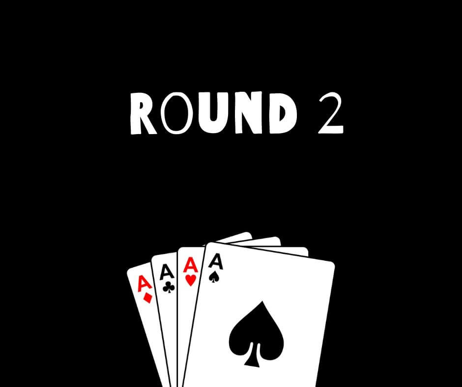 How to play second 5 card Draw round